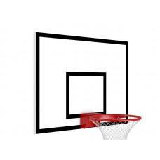 Баскетбольный щит металлический PlayGame 900х680 мм, код: SS00427-LD