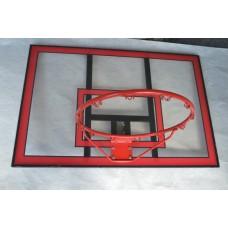 Баскетбольний щит з кільцем Vigor 1120x750 мм, код: BB001-SV