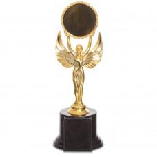 Нагорода спортивна з місцем під жетон PlayGame Ніка 230 мм, код: C-0333C
