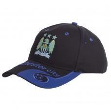 Кепка футбольного клубу Manchester City, чорний-синій, код: CO-0801-S52