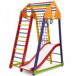 Игровой детский уголок PLAYBABY BambinoWood Color Plus 1, код: SB-IG39