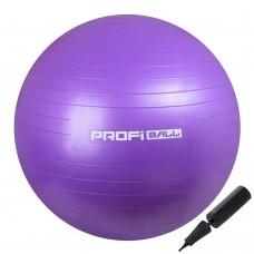 М'яч для фітнесу Profi 650 мм Violet, код: M-0276-1