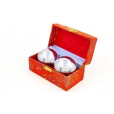 Шары ловкости со звоном внутри в подарочной упаковке (2 шт), код: FI-6991