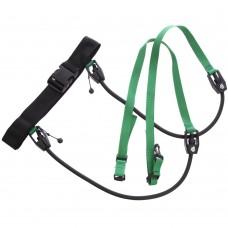 Поясний тренажер для плавання MadWave Stationary Trainer 1100 мм, код: M077401000W-S52