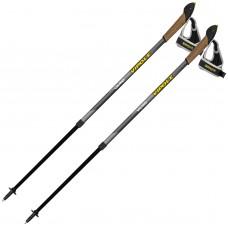 Палки для скандинавської ходьби Vipole Vario Novice Grey S2033, код: 928539-SVA
