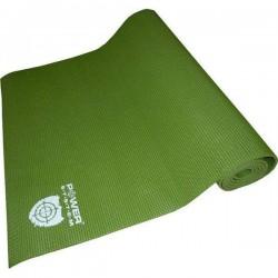 Коврик для фитнесса и йоги Power System Green, код: PS-4014_Green
