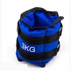 Утяжелители 2х1,5 кг синий, код: 87217-3