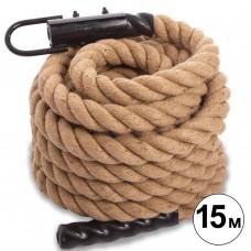 Канат для кроссфита CrossGym Combat Battle Rope, код: FI-0910-15