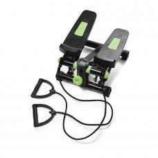 Міні-степпер з еспандерами 4Fizjo Black/Green, код: 4fj0212