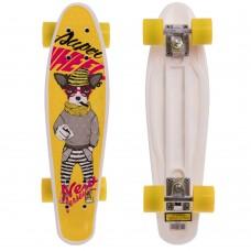 Скейтборд пластиковий Penny Абстракція 550х145 мм, код: HB-13-6-S52