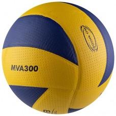 М'яч волейбольний Mikasa жовто-синій, код: MVA300PU-Y-WS