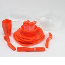 Набор туристической посуды Green Camp, код: GC-139/54R
