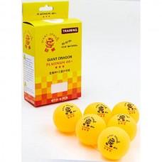 Мячи для настольного тенниса Giant Dragon 6 шт, код: MT-6560-OR