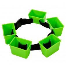 Пояс гальмівний для плавання MadWave Break Belt зелений, код: M082701000W-S52