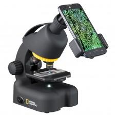Микроскоп National Geographic 40x-640x (с адаптером для смартфона), код: 922416-SVA