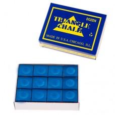 Мел Triangle, 12шт, синій, код: TR12-WS