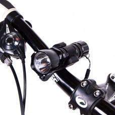 Фонарь велосипедный Camping, основной+мигалка, код: BL-8008-198-WS