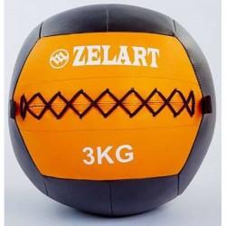 Медбол Zelart (PU 3 кг), art: FI-5168-3