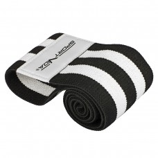 Резинка для фітнесу та спорту із тканини SportVida Hip Band Size L, код: SV-HK0256