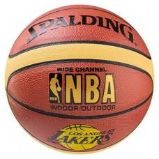 Мяч баскетбольный Spalding NBA Lakers, код: 5866-1
