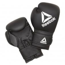 Боксёрские перчатки Reebok 10oz черный, код: RSCB-12010BK-10