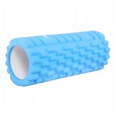 Массажный ролик Springos 330x140 мм Light Blue, код: FR0014