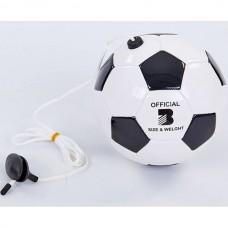 Мяч футбольный тренажер PlayGame, код: FB-6883-3