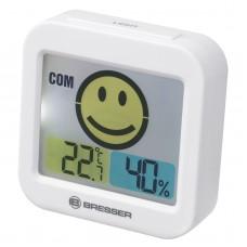 Термометр-гігрометр Bresser Temeo Smile White (7007450GYE000), код: 928631-SVA