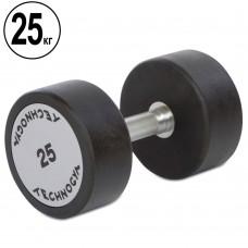 Гантель цельная профессиональная TechnoGym 1х25 кг, код: TG-1834-25
