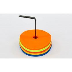 Набір плоских кіл-маркерів для розмітки PlayGame d-160 мм (25 шт), код: FB-7098-25