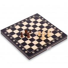Шахматы настольная игра деревянные ChessTour 240х240 мм, код: W8012