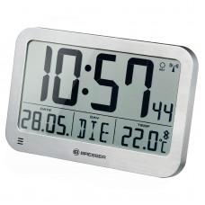 Годинники настінні Bresser MyTime MC Silver (7001801), код: 928624-SVA