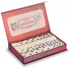Домино настольная игра в картонной коробке PlayGame 185х115х28 мм, код: ZC5010-X