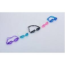 Очки для плавания с берушами в комплекте FitGo Grilong, код: F268-S52