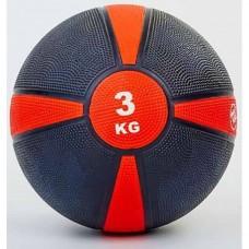 Медбол FitGo (резина 3 кг), art: FI-5122-3