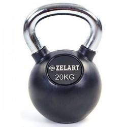 Гиря обрезиненная Zelart 20 кг., art: TA-5162-20