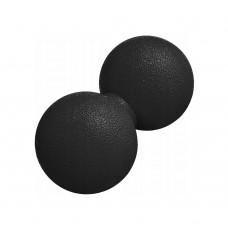 Масажний м'яч подвійний Springos Lacrosse Double Ball 120x60 мм, код: FA0022