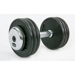 Гантель цілісна професійна сталева Record 1х17,5 кг, код: TA-7231-17_5