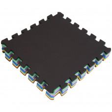 Килимок-мат пазл набір FitGo 300x300x10 мм (6 шт), код: C-3465-S52