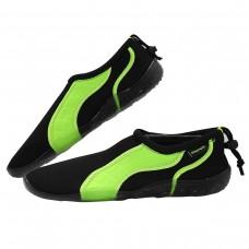 Взуття для пляжу і коралів (аквашузи) SportVida Black/Green Size 43, код: SV-GY0004-R43