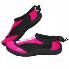 Взуття для пляжу і коралів (аквашузи) SportVida Black/Pink Size 30, код: SV-GY0001-R30