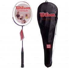 Ракетка для бадмінтону Wilson професійна в чохлі, код: BD-5936-S52