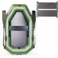 Надувний човен Ладья зі слань-ковриком 1900 мм, код: ЛТ-190УЕС