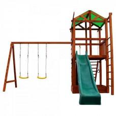 Детский игровой комплекс PlayBaby (Ранчо), код: PBK06