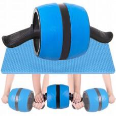 Ролик для преса з поворотним механізмом Springos AB Wheel Blue/Black, код: FA5000