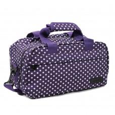 Сумка дорожня Members Essential On-Board Travel Bag Purple Polka 12,5 л, код: 927844