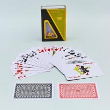 Игральные карты пластиковые PlayGame Lucky Gold 54 шт, код: IG-0846