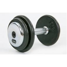 Гантель цельная профессиональная стальная Record 1х7,5 кг, код: TA-7231-7_5