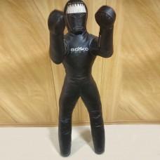 Манекен для ММА з ногами і видовженими нерухомими руками Boyko-Sport ПВХ 1800 мм, код: bs2332101180-BK
