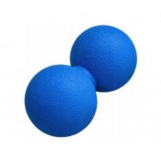 Масажний м'яч подвійний Springos Lacrosse Double Ball 120x60 мм, код: FA0024